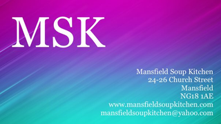 Mansfield Soup Kitchen