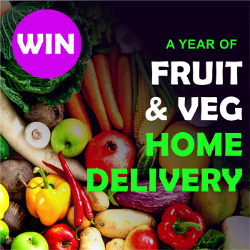 WIN a year of fruit and veg home delivery from Boxxfresh